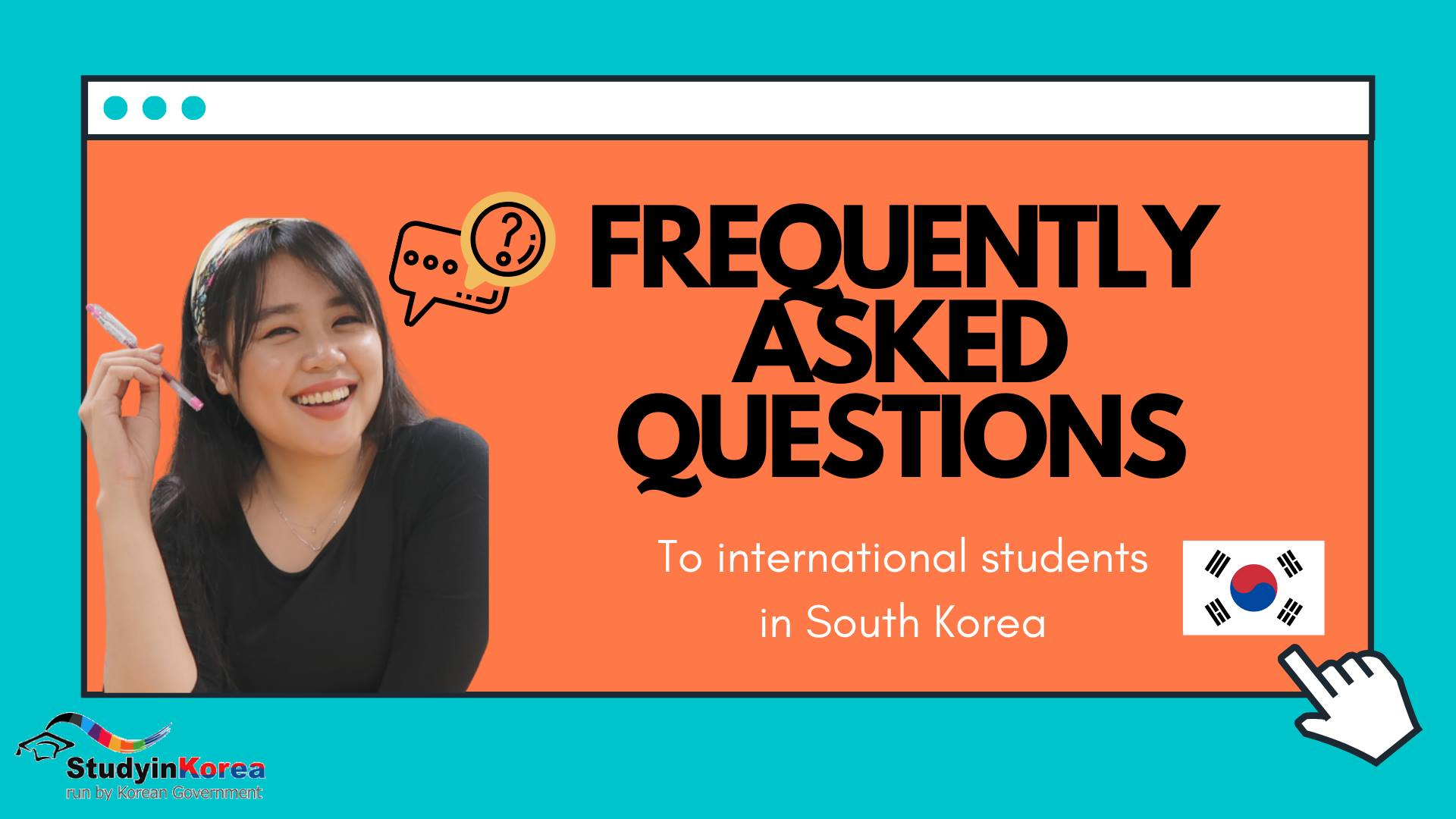 PIKO VP Belle Answers Frequently Asked Questions About Studying in Korea!