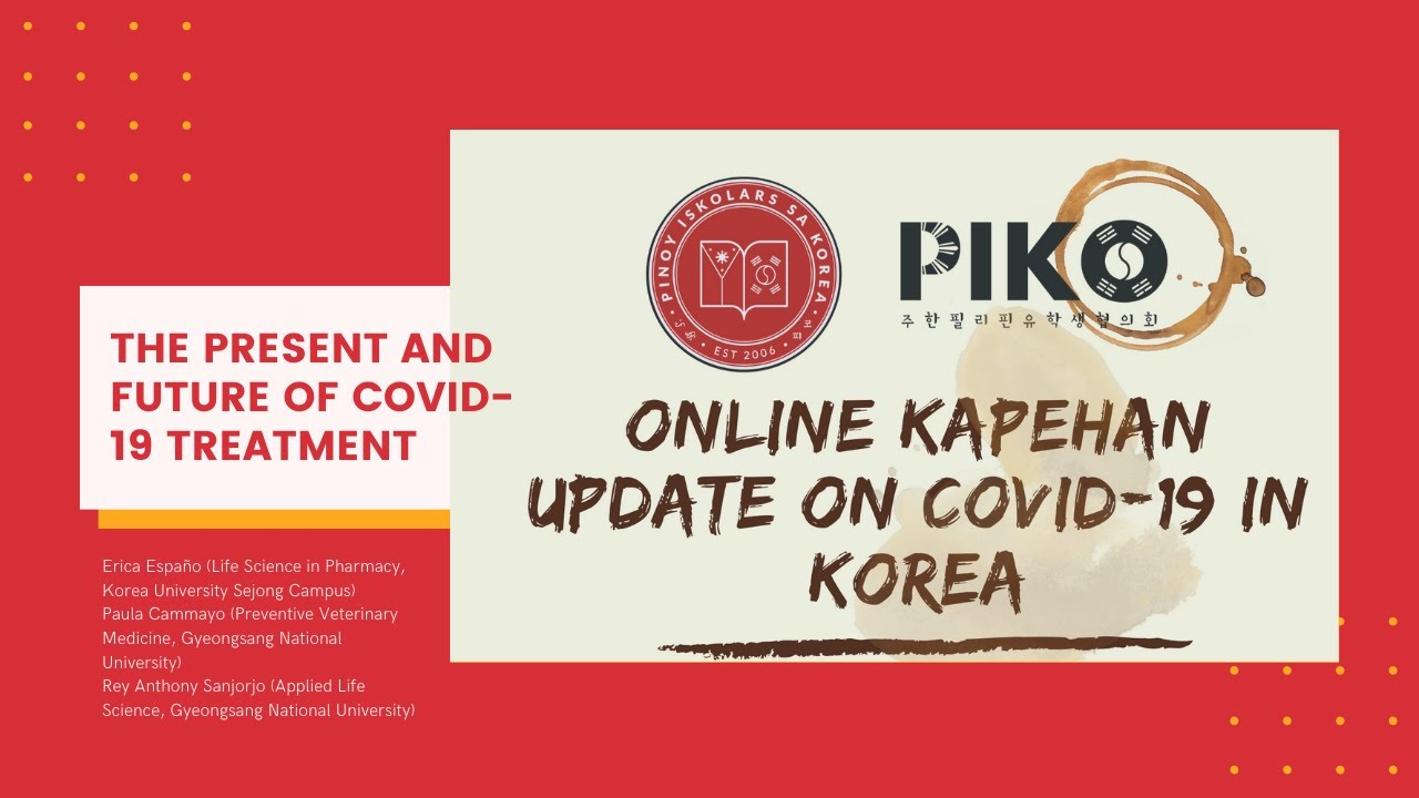 Online Kapehan, pt. 3: The Present and Future of COVID-19 Treatment
